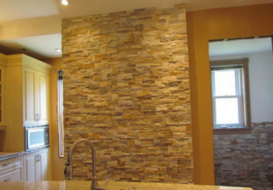 Culture Stone Inside Of House Wall Unit