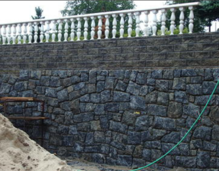 cultured stone wall residential