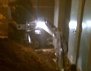 basement ground foundation repair