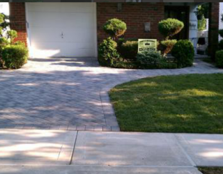 residential home pavers driveway masonry by tonys masonry