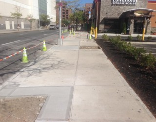 sidewalk paving repairs